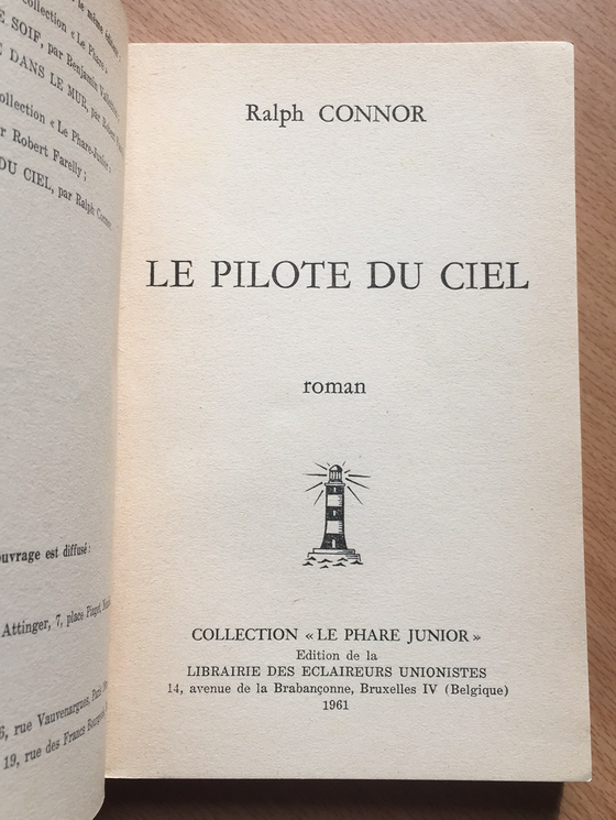 Le pilote du ciel « Le phare junior » Vol.2