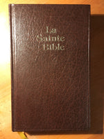 La sainte Bible (traduction Darby, imprimé par Jongbloed!)