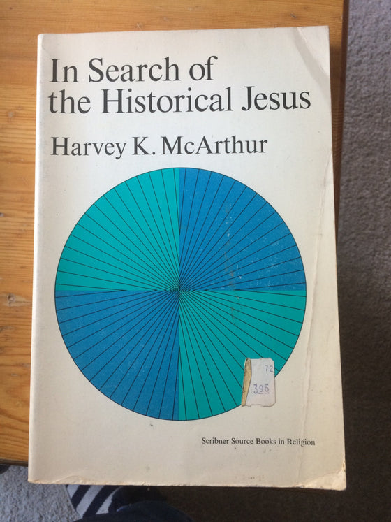 In Search of the Historical Jesus (livre académique) - ChezCarpus.com