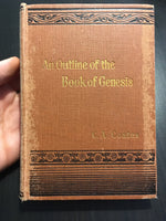 An outline of the book of Genesis