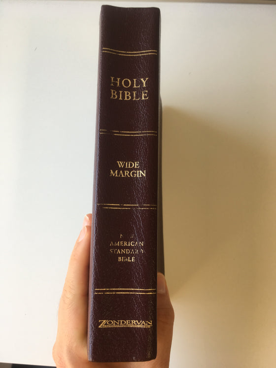 NASB Wide-Margin Bible - ChezCarpus.com