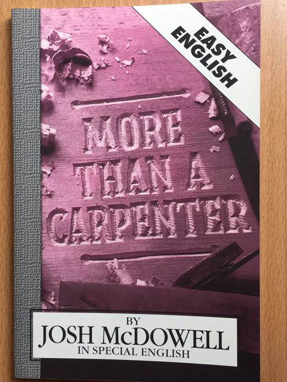 More than a carpenter (easy English)