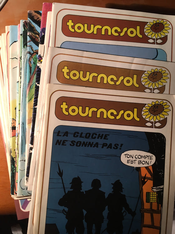 Lot de 25 magazines Tournesol - ChezCarpus.com