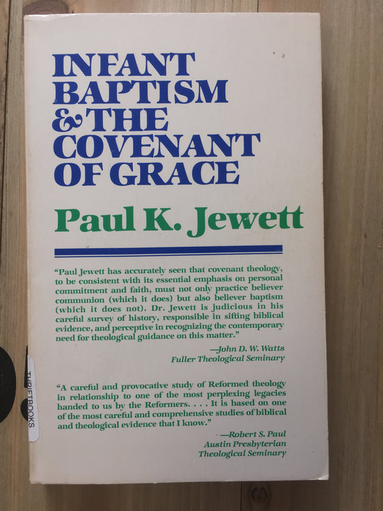 Infant baptism & the covenant of grace - ChezCarpus.com