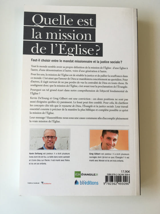 Quelle est la mission de l'Eglise?