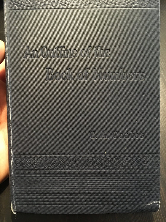 An outline of the Book of Numbers - ChezCarpus.com