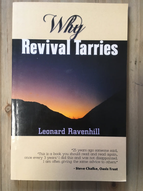 Why revival tarries - ChezCarpus.com