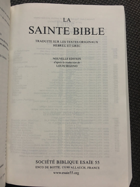 La Sainte Bible (couverture « parchemin ») - ChezCarpus.com