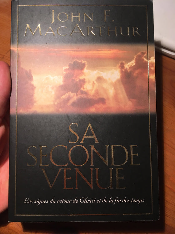 Sa seconde venue (livre dispensationaliste) - ChezCarpus.com