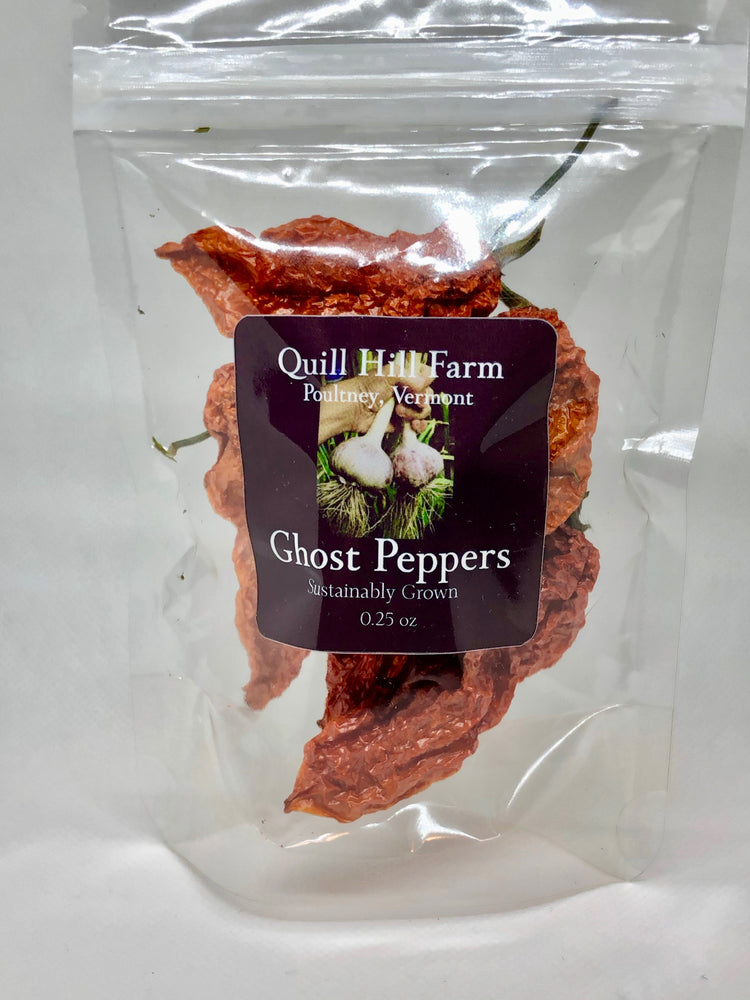 Ghost Peppers Dried
