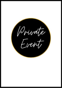 Friday 30th October 7pm - Booked Out for Private Event