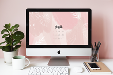 April 2020 Calendar Wallpaper Freebie