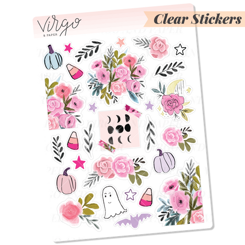Clear Mystic Decorative Stickers