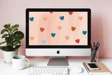 Self Love Hearts Wallpaper Freebie