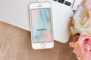 September 2019 Calendar Wallpaper Freebie
