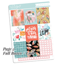 Fresh Start 2019 Weekly Planner Sticker Kit - Watercolor Art Exclusive to Virgo and Paper