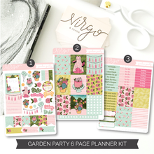 Garden Party Weekly Kit - 6 Page Planner Sticker Kit