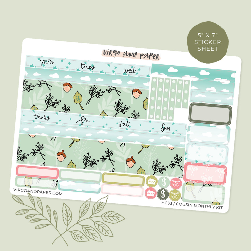H. Cousin Monthly Kit Quiet Life v.1