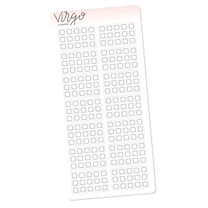 Weeks Checklists Stickers Neutral