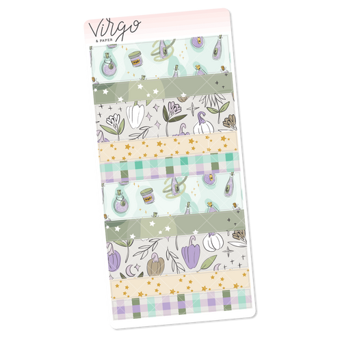 Pumpkins & Potions Weeks Washi