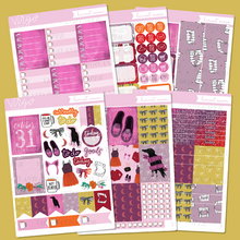 Harvest Moon Weekly Planner Sticker Kit - Hand Drawn Halloween Stickers Exclusive to Virgo and Paper