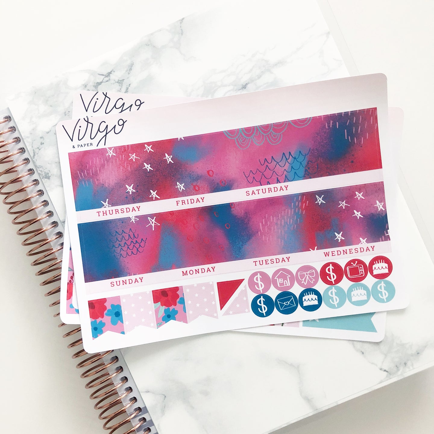Together Monthly Planner Sticker Kit