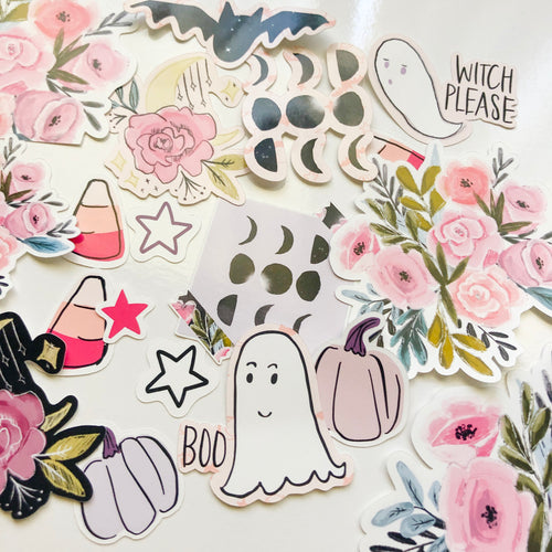 Mystic Sticker Die Cuts