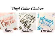 Lists Hand Lettered Vinyl Decal