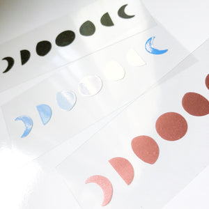 Moon Phase Vinyl Decal