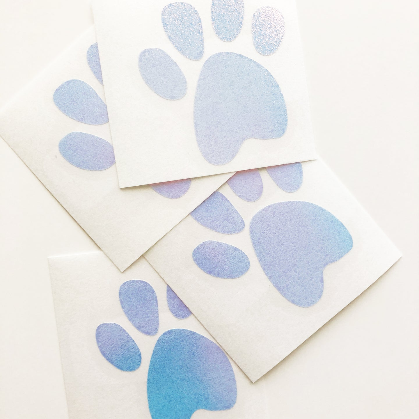 Medium Paw Print Vinyl Decal