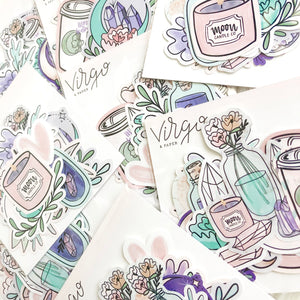 Moonlight Sticker Die Cuts