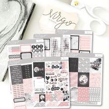 Luna Weekly Planner Sticker Kit - Hand Drawn Moon Themed Stickers