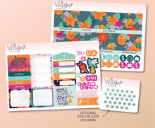 Lovely Summer Monthly Undated Planner Sticker Kit