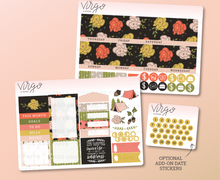Wilderness Monthly Planner Sticker Kit