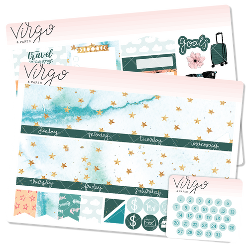 Wayfarer v.1 Undated Monthly Sticker Kit