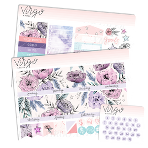 Imagine Monthly Planner Sticker Kit