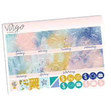 Starstruck Undated Monthly Sticker Kit