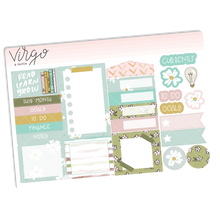 To Be Read Monthly Planner Sticker Kit