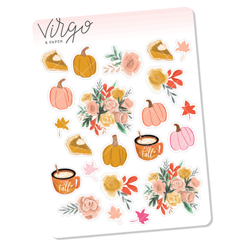 Pumpkin Pie Decorative Mini Sheet