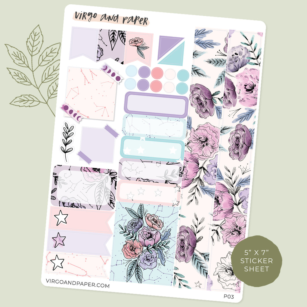 [7x9 Planner] Monthly Kit Imagine