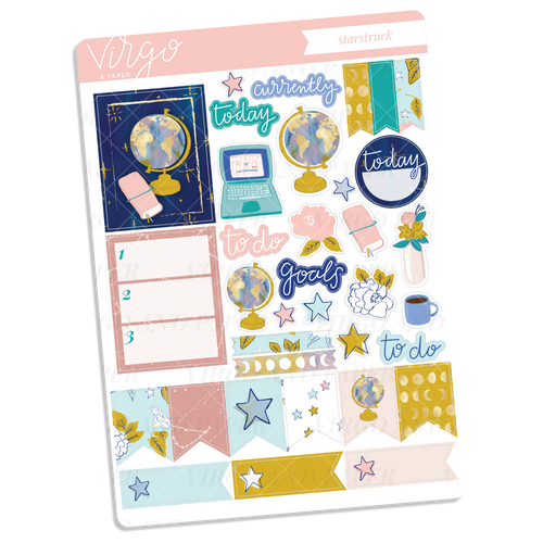 Starstruck Decorative Sticker Sheet