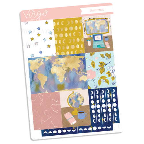 Starstruck Full Boxes Sticker Sheet