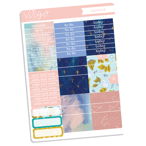Starstruck Headers + Washi Sticker Sheet