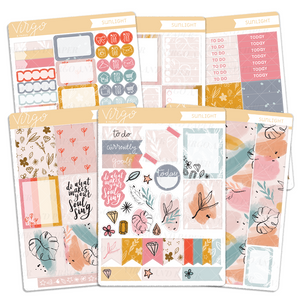 Sunlight Weekly Planner Sticker Kit