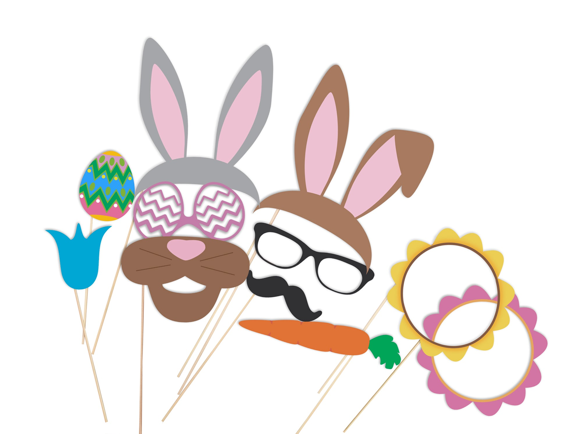 Easter-Photo-Booth-costumes-accesories-ideas-Party-DIY