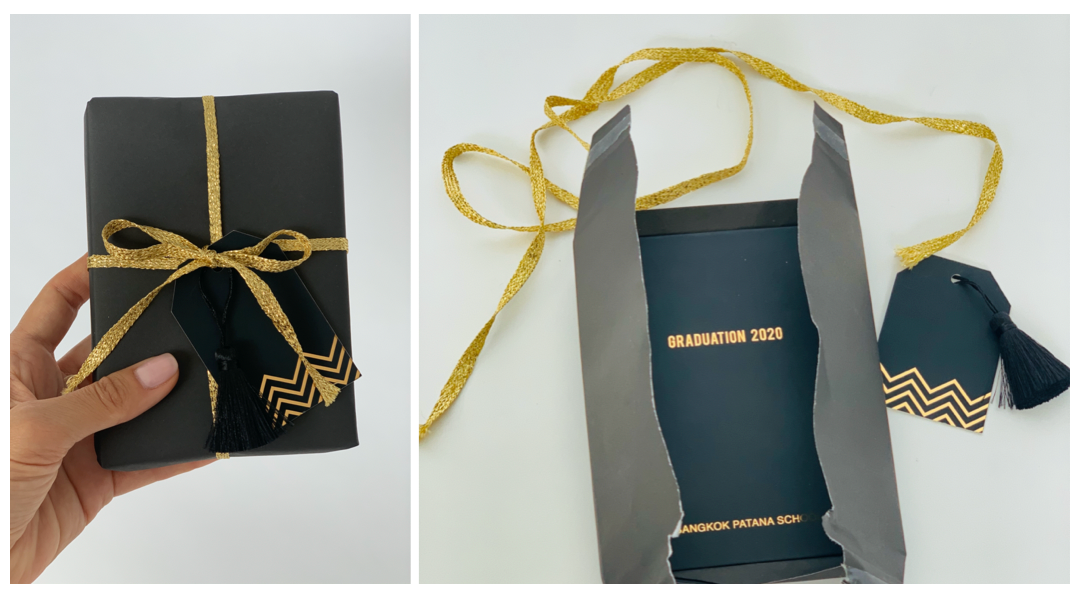 Mini album graduation gift Bangkok Patana