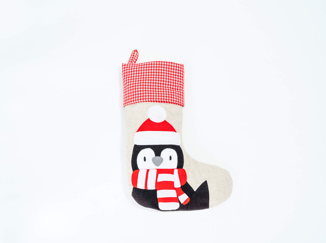 Christmas Stocking Penguin