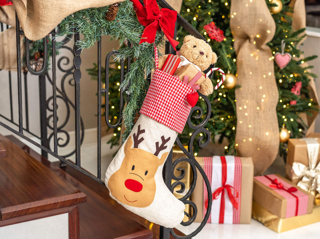 Christmas Stocking Reindeer