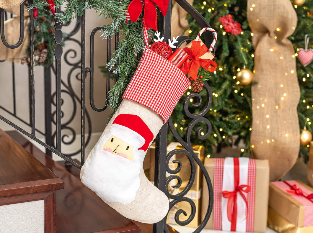 Christmas Stocking Santa