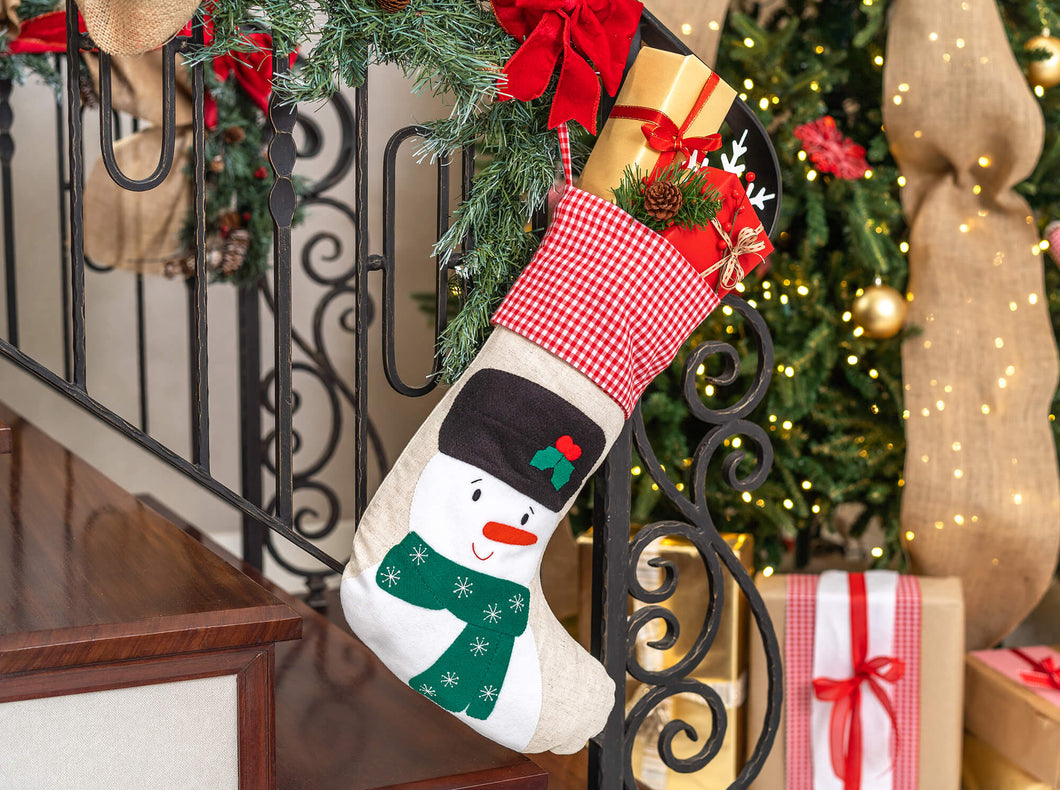 Christmas Stocking Snowman